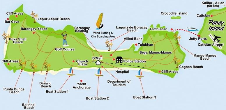Boracay Map