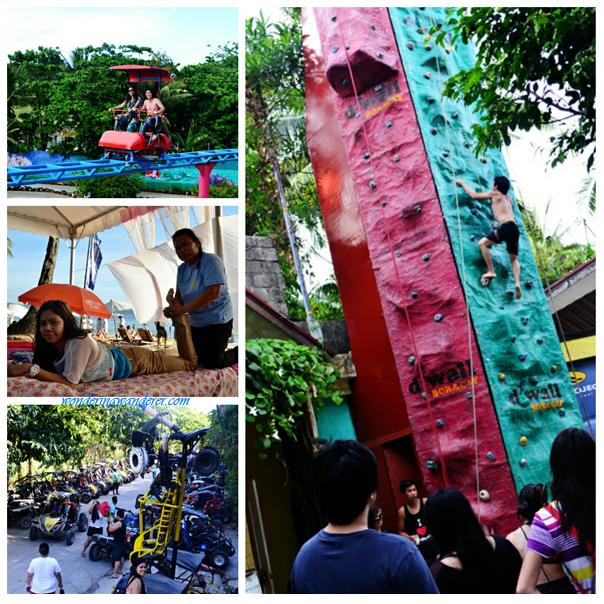 Recreational activities in Boracay