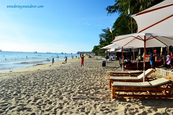 Boracay's afternoon beach