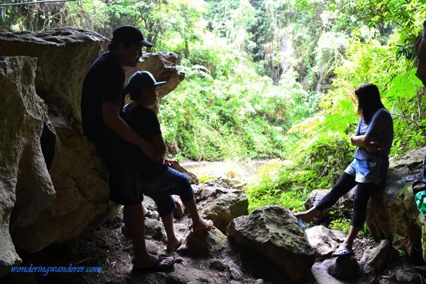 Random Cave in Sagada Adventure Trail