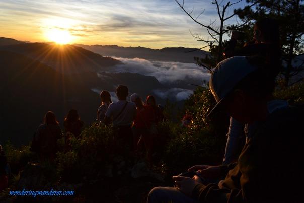 Sunrise in Kiltepan, Sagada, Mountain Province, Philippines