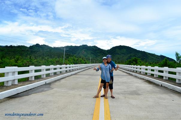 Road to Dinadiawan Beach