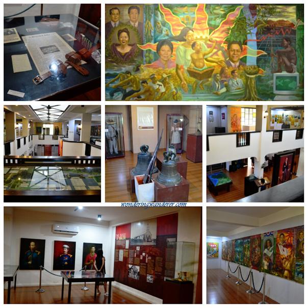 Senator Angara's painting in Museo de Baler