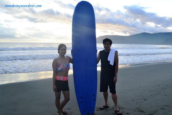 Surfing in Baler - Sabang Beach