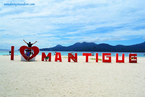 Mantigue Beach in Camiguin