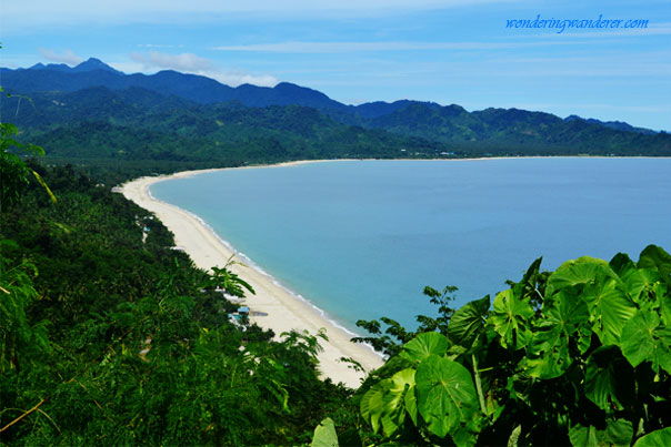Dinadiawan Beach is very close to Baler