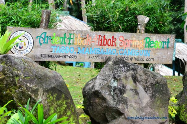 Ardent Hibok-Hibok Spring Resort Logo