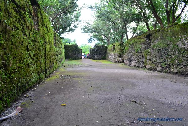 Guiob Church Ruins entry point