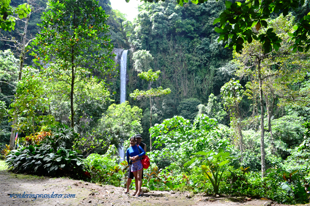 Katibawasan Falls with Couple in Camiguin