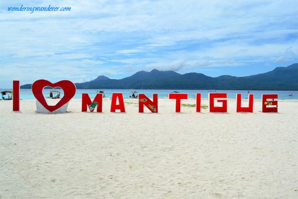 White sand beach of Mantigue Island - Camiguin