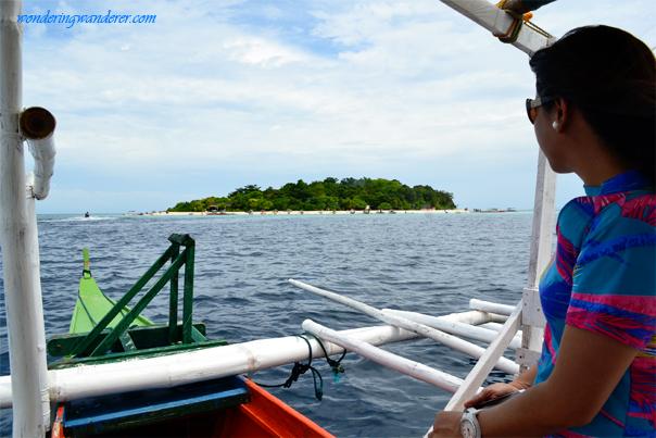 Manitigue Island from afar