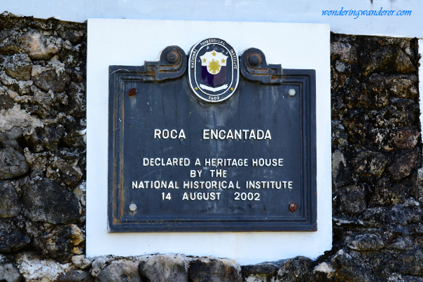 Roca Encantada declared a Heritage House by NHI