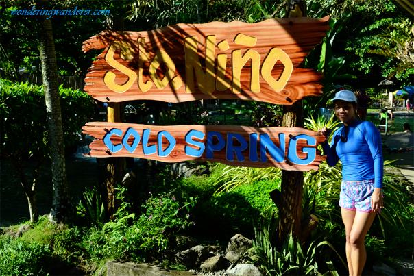 Sto. Niño Cold Spring Logo