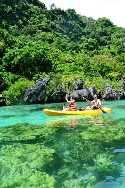 Big Lagoon El Nido Palawan Wondering Wanderer Travel Blog
