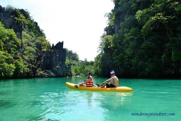 Big Lagoon with Couple