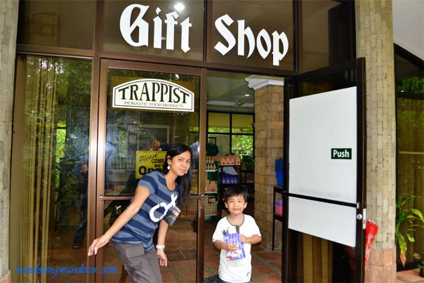 Trappist Gift Shop Entrance - Guimaras