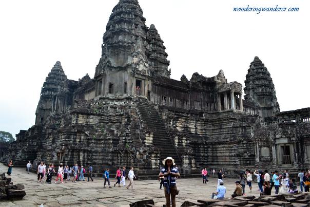 Inside the Angkor Wat Complex