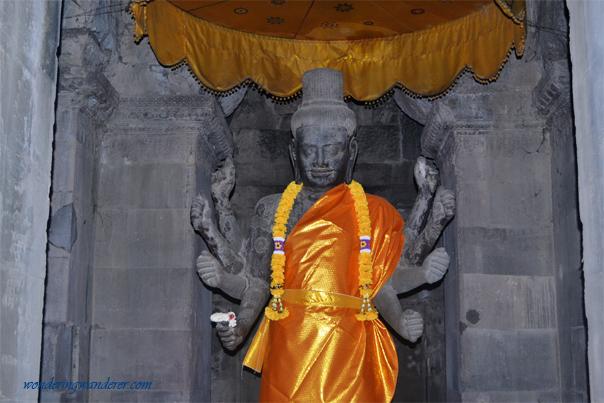 Vishnu Statue - Siem Reap, Cambodia
