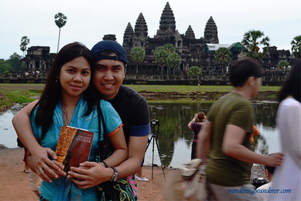 Couple at Angkor Wat - Siem Reap, Cambodia
