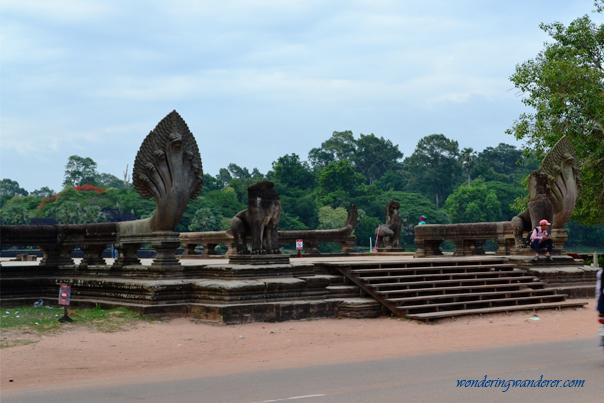Angkor Wat's entrance - Siem Reap, Cambodia