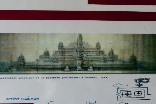 Paint of Baphuon Temple - Siem Reap, Cambodia