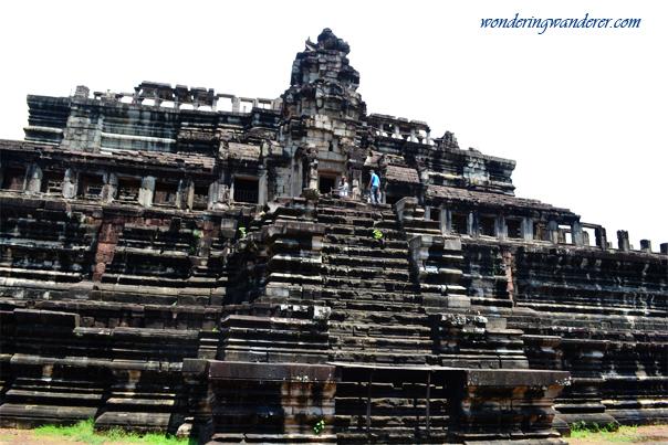 Facade of Baphuon Temple - Siem Reap, Cambodia