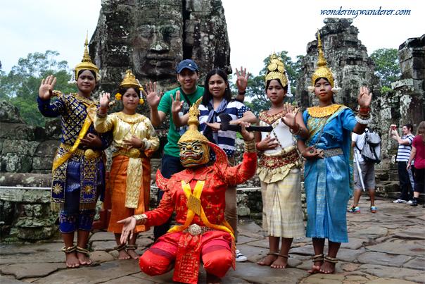 Apsara Dancers - Siem Reap, Cambodia