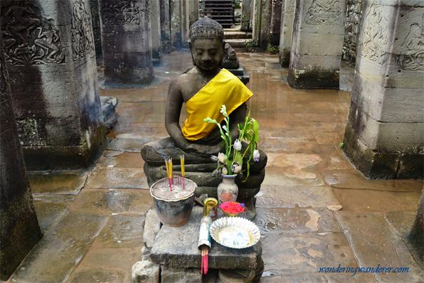 Buddha Statue at Bayon Temple, Siem Reap, Cambodia