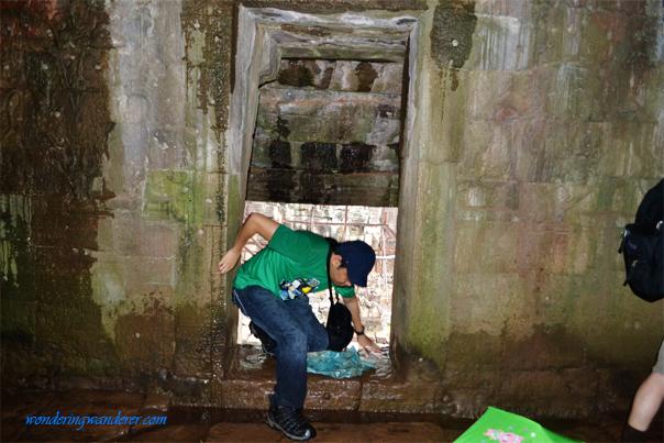 Small entrance at Bayon Temple