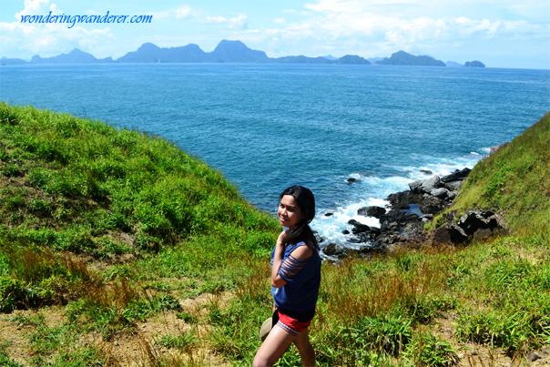 Nacpan Beach coastline