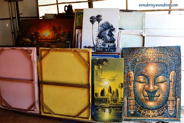 Cambodian paintings - Srah Srang