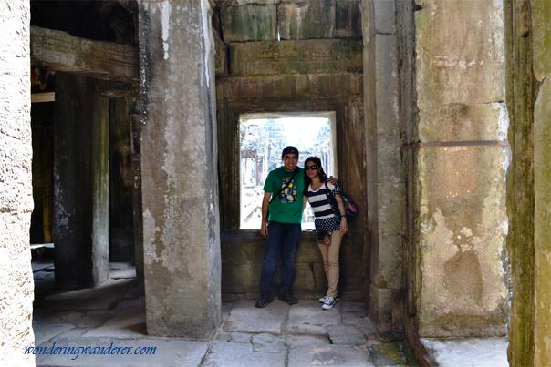 Interior of Banteay Kdei - Siem Reap, Cambodia