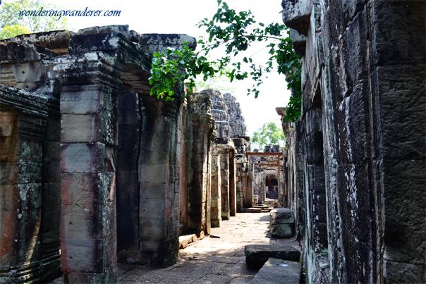 Hallway at Banteay Kdei - Siem Reap, Cambodia