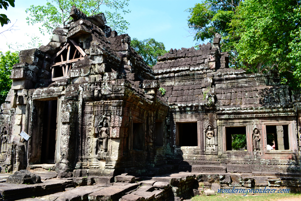 Ancient building at Banteay Kdei - Siem Reap, Cambodia