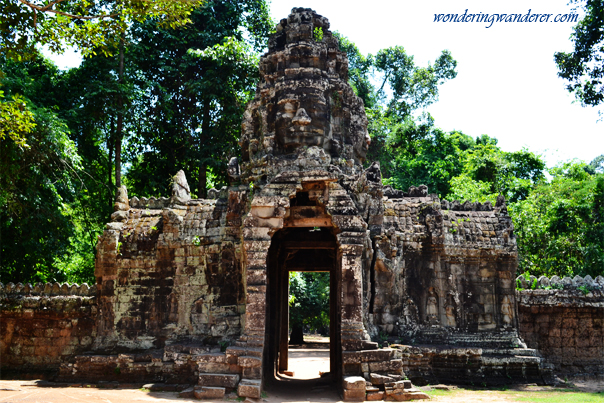 Exit of Banteay Kdei - Siem Reap, Cambodia