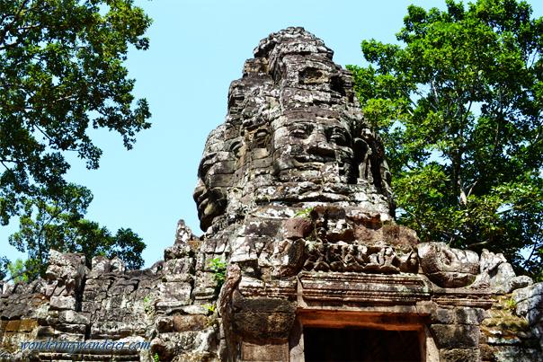 Banteay Kdei's Gate - Siem Reap, Cambodia