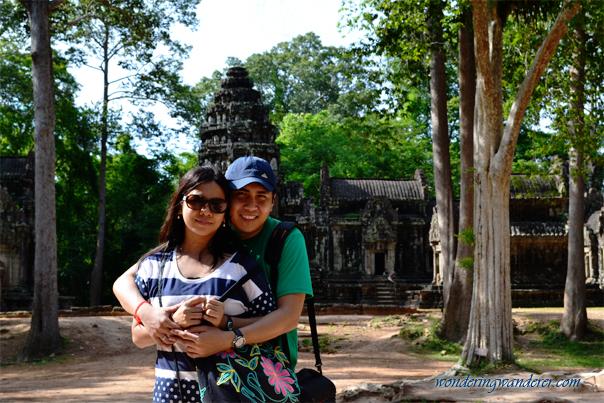 Couple at Chau Say Tevoda Temple