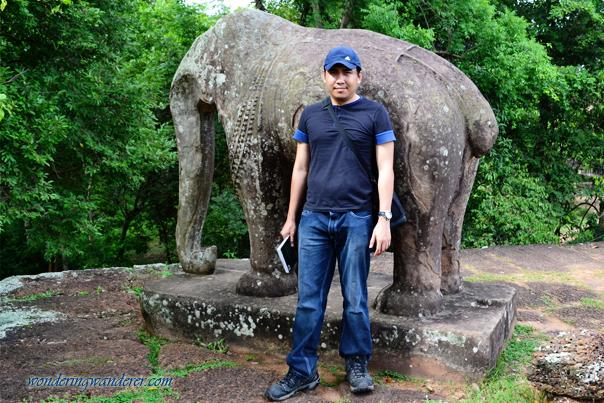 Elephant statue in East Mebon Temple