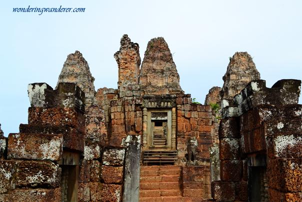 Top-most door of East Mebon Temple