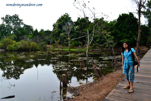 Reservoir near Neak Poan - Siem Reap, Cambodia