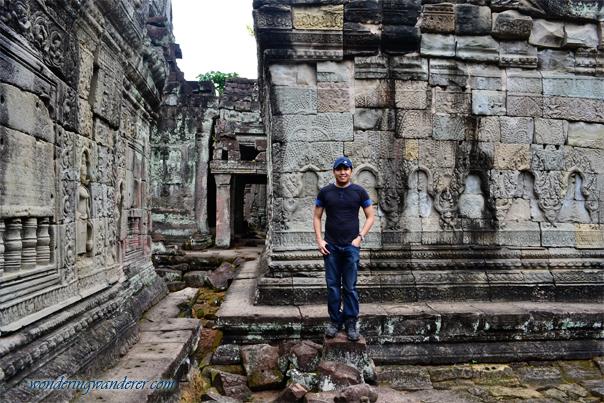 Temple ruins at Preah Khan - Siem Reap, Cambodia