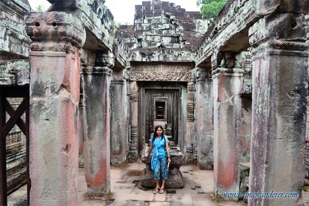 Infinity Hallway at Preah Khan - Siem Reap