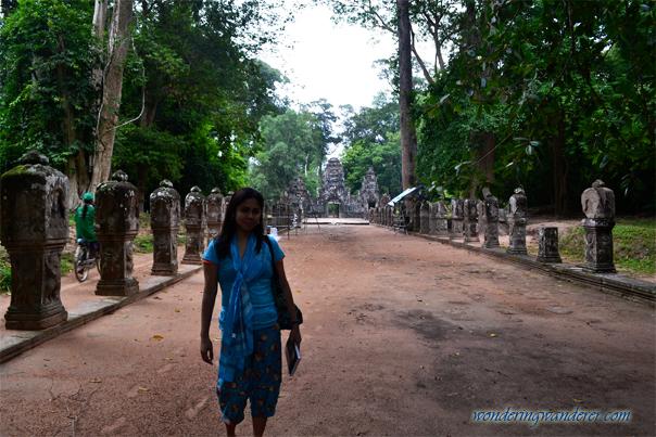 Royal pathway - Preah Khan - Siem Reap