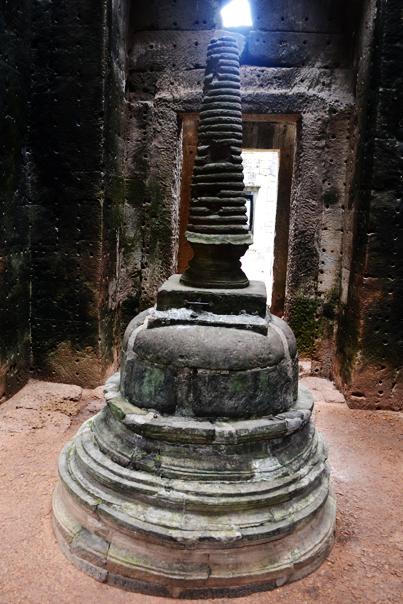 Stupa at Preah Khan - Siem Reap