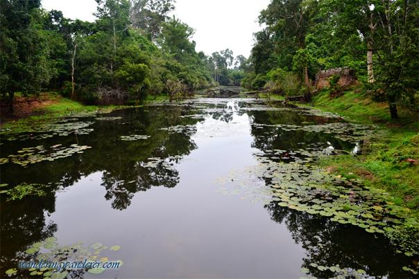 Artificial lake in Preah Khan - Siem Reap, Cambodia