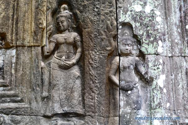Devatas at Preah Khan - Siem Reap, Cambodia
