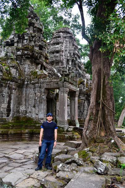 Angkorian Temple - Preah Khan - Siem Reap, Cambodia