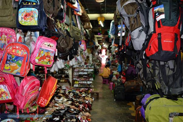 Angkor Night Market's goods