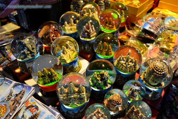 Angkorian Snow Globes in Angkor Night Market