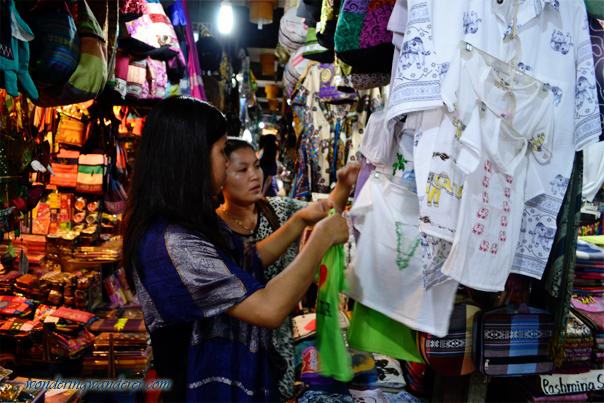 Bargaining at Angkor Night Market